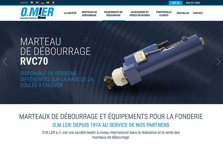 O.M.LER Srl - Nouveau site en ligne